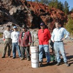 Jim, Scott , Tuell, Keith and Jay at Graves Mountain 2/1/2003