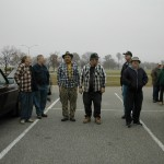Viola, Ben, Jim, Tuell, Jack, and Ron ready for a Perry field trip.