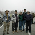 Jim, Tuell, Betty, Jack, Ron, William, Frank, and Linda ready for Perry field trip.