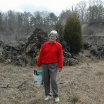 Marjorie on Perry field trip.