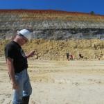 Richard at Cemex quarry.