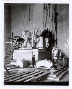 Photograph_of_the_Abraham_Lincoln_Statue_Installation_in_the_Lincoln_Memorial,_Washington,_D.C.,_1920