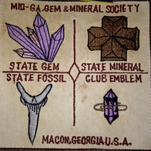 Original club patch from vest of Susan's father's vest.