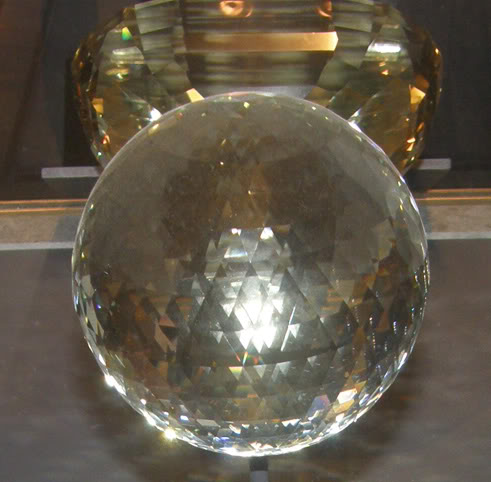 Golden Topaz Sphere